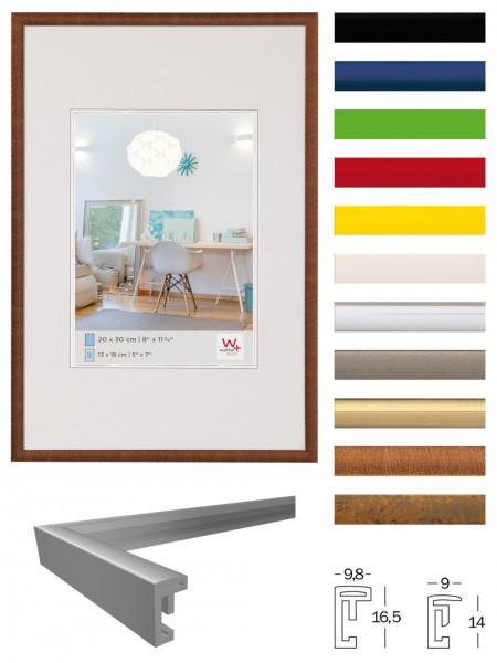 Kunststoffrahmen NEW LIFESTYLE in vielen Farben + Formaten