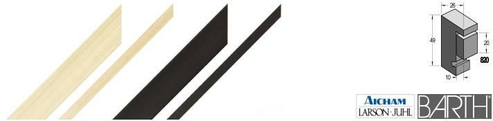 Holz-Bilderrahmen BARTH Serie 820 (Aicham Larson-Juhl)