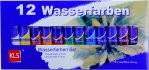 Farben Wasser 12 teilig