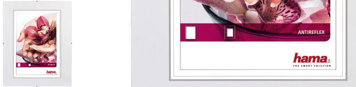 Clip-Fix Antireflexglas