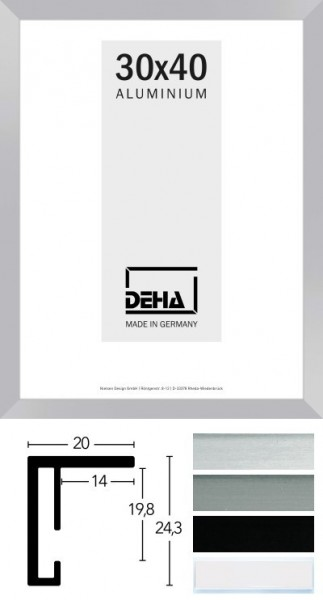 Deha Aluminium-Wechselrahmen Profil 12