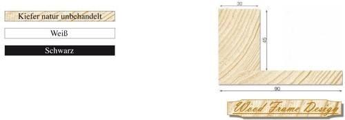 Holz-Schattenfugenrahmen P4/30 (Wood Frame Design)