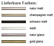 DEHA-Wechselrahmen Farbübersicht Profil 50