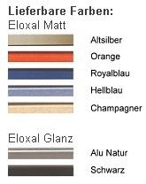 DEHA-Wechselrahmen Farbübersicht Profil 6