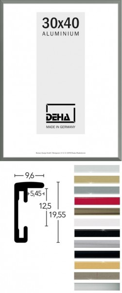 Deha Aluminium-Wechselrahmen Profil F
