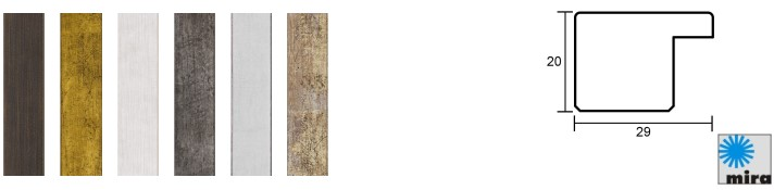 Holz-Bilderrahmen Profil 2310 (Mira)
