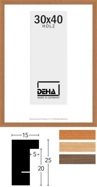 Deha Holz-Wechselrahmen Profil A25 Edelhölzer