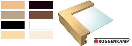 Holz-Bilderrahmen Profil H (Roggenkamp)