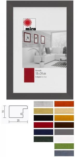 Holz-Bilderrahmen TOP Pro in vielen Farben - auch Sondermaße