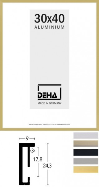 Deha Aluminium-Wechselrahmen Profil 2
