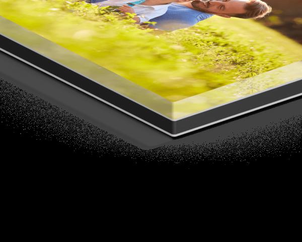 Fotodruck unter Acrylglas auf Aluminium