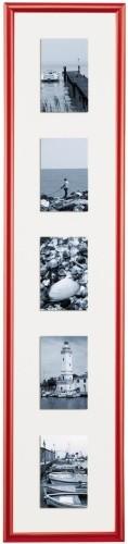 Kunststoffrahmen Fotogalerie Malaga mit Passepartout