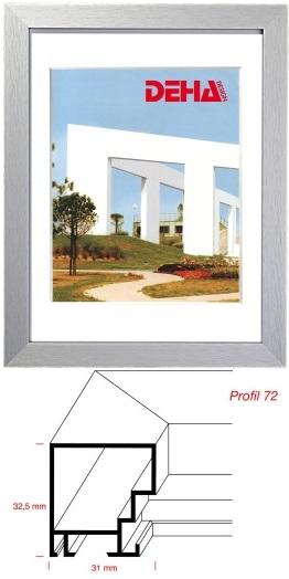 Quadratisch Bilderrahmen: praktisch, glänzend oder matt