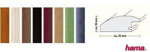 Rahmen von Hama: Korfu in gedeckteren Farben