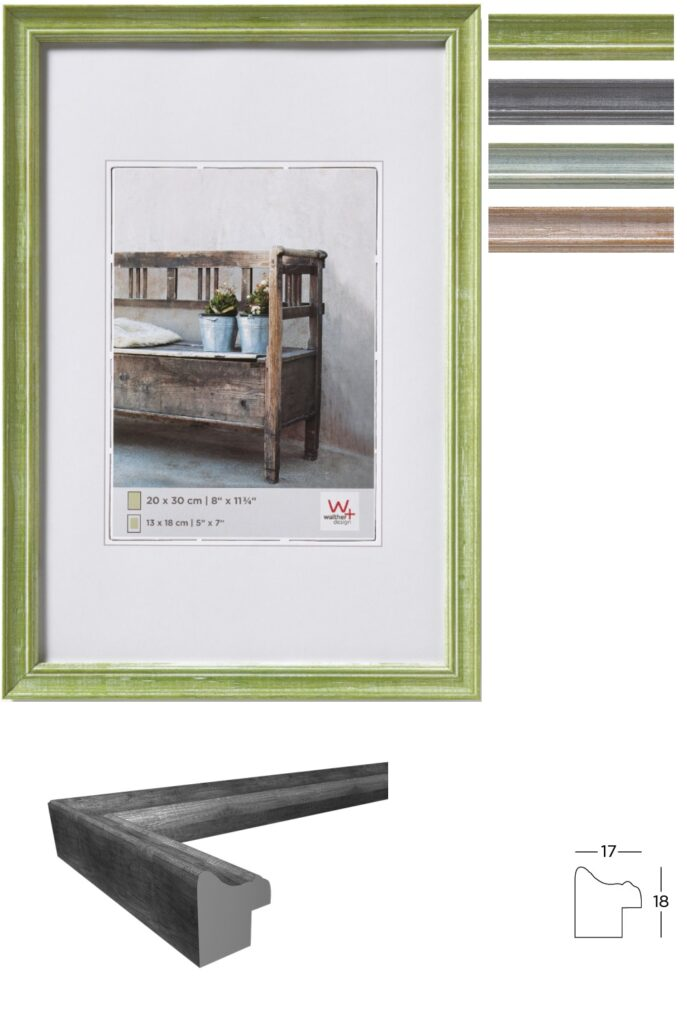 Walther Bilderrahmen Bench aus Holz