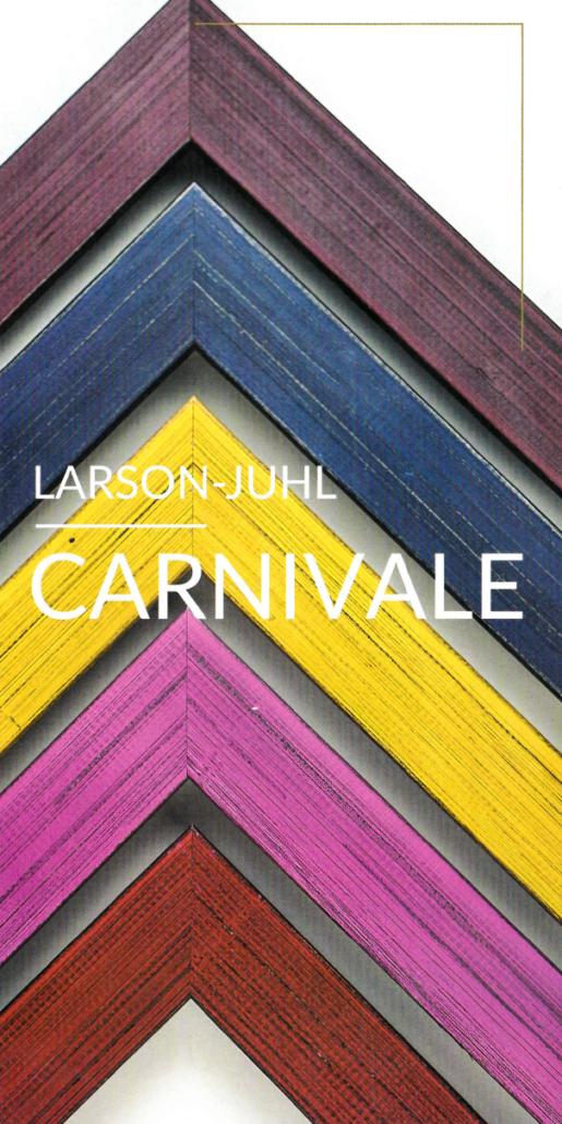 Larson-Juhl Carnivale mit fünf frischen Farben