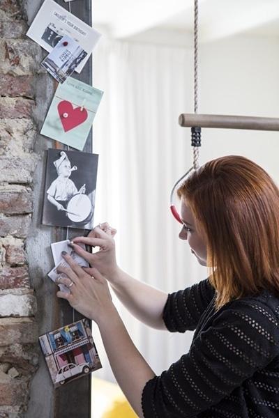 Grußkarten aufhängen mit Magnetset von Stas vom Rahmen-Shop.de